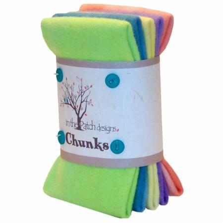 Unicorn Wool Chunks 5pc 9in x 10in