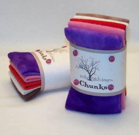 Sweetheart Wool Chunks 5pc 9in x 10in