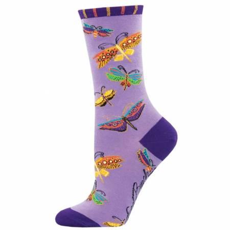 Socks - Flutterbyes Purple