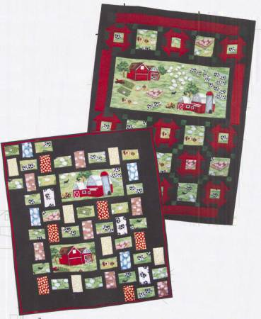 Postcards From The Farm Panel Quilt