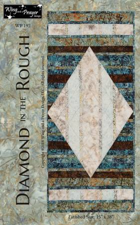 Diamond In The Rough Wallhanging Pattern by Wing and a Prayer