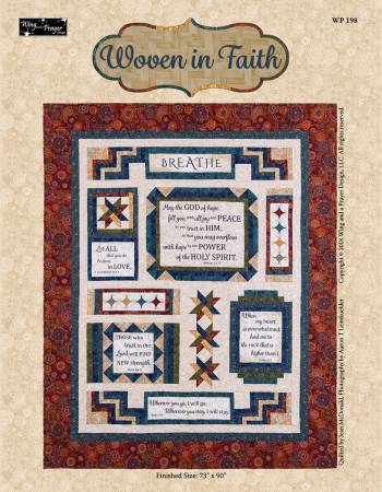 Woven In Faith - Fabric Kit + Pattern