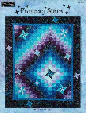 Fantasy Stars Quilt Kit