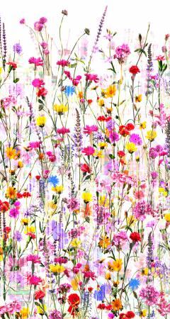 Spring Floral 104in Wide Digitally Printed WP