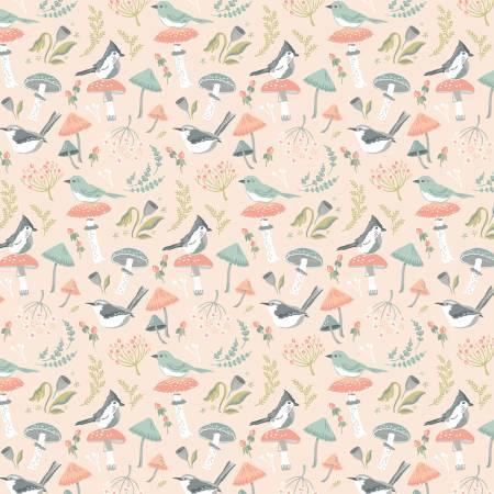 Woodland Songbird Peach