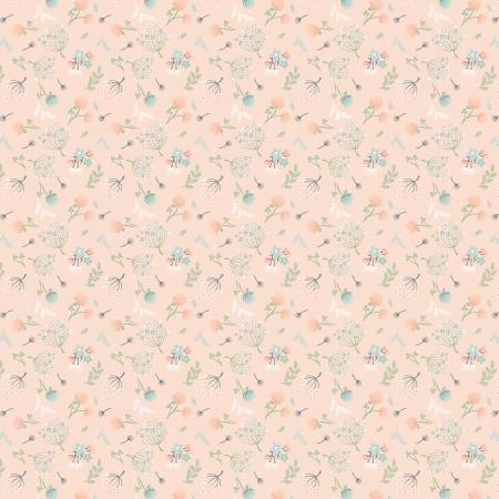 Woodland Songbirds - Peach Woodland Floral