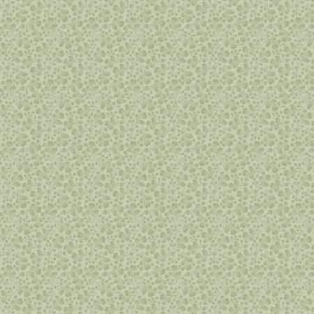 Woodland Songbird Green Fern Berry