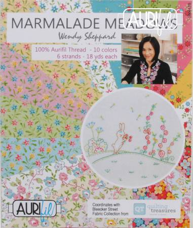 Marmalade Meadows Collection by Wendy Sheppard