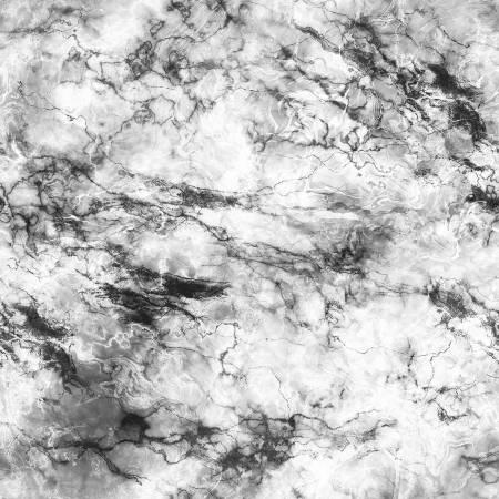 108- Light Grey  Marbled Digital Print