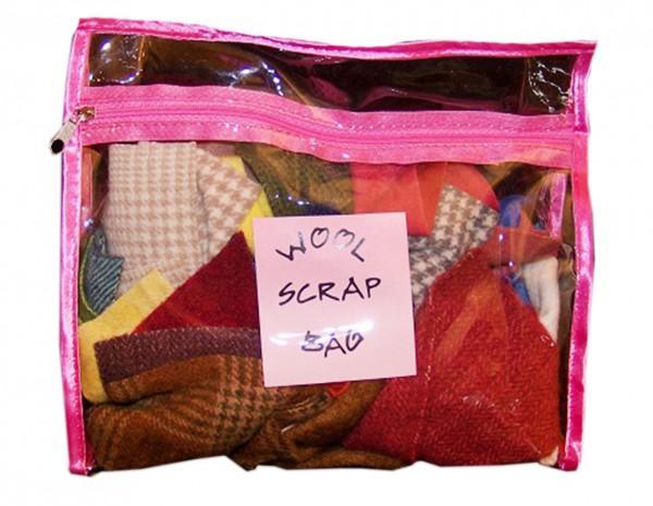 Wool Scrap Bag