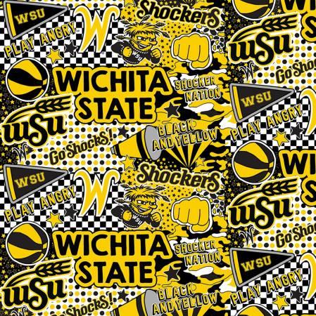 Wichita State Shockers Pop Art Cotton