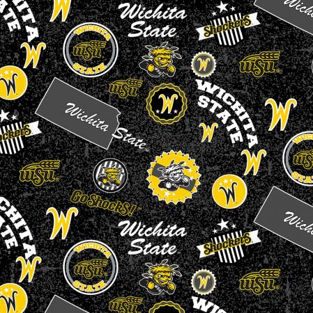 NCAA Wichita State Shockers Home State Cotton