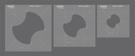 Westalee Applecore Template Set Low Shank