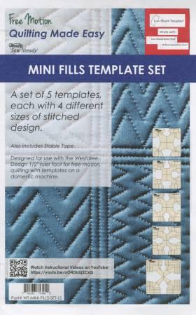 Mini Fill 5pc Template Set LS