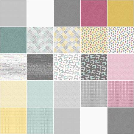 10in Squares Words to Quilt By, 42pcs/bundle