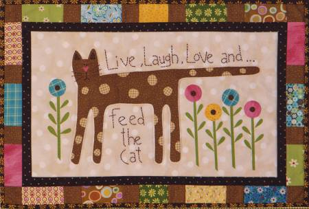 Feed the Cat Wall Quilt
