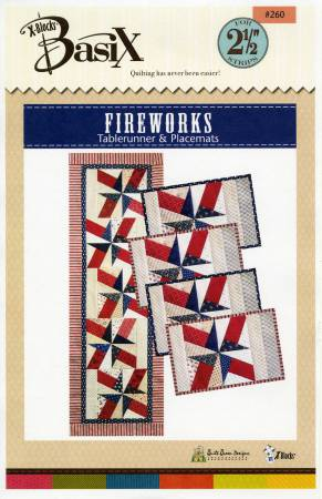 BasiX - Fireworks Table Runner