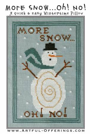 More Snow! Oh No! Cross Stitch Pattern
