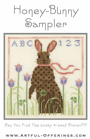 Honey-Bunny Sampler Cross Stitch Pattern