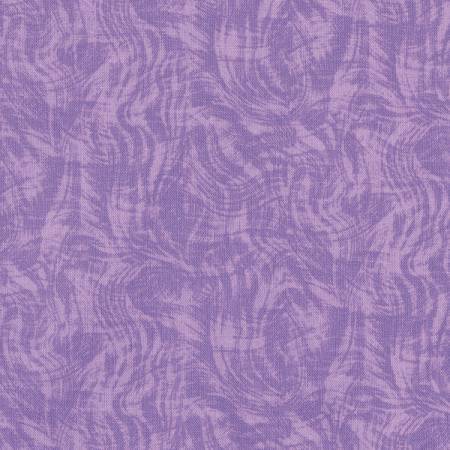Clothworks Row by Row 2016 Y1323-26 Purple Light Impressions Moire 2