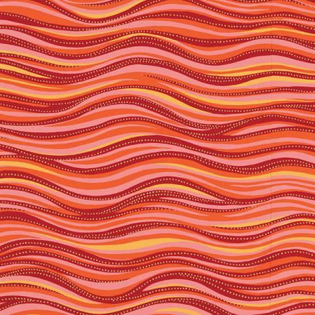 Dark Coral Wave Metallic