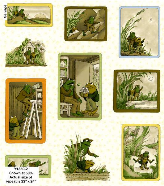 Frog and Toad Together Cream Y1350-2