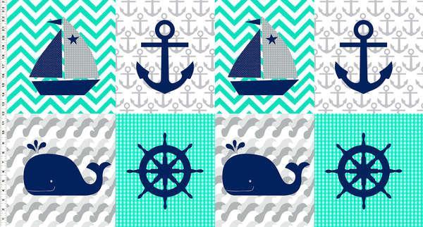 Nautical Treasures - Panel #1