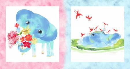 Multi Baby Gone Wild Panel/Masha D'yans Design