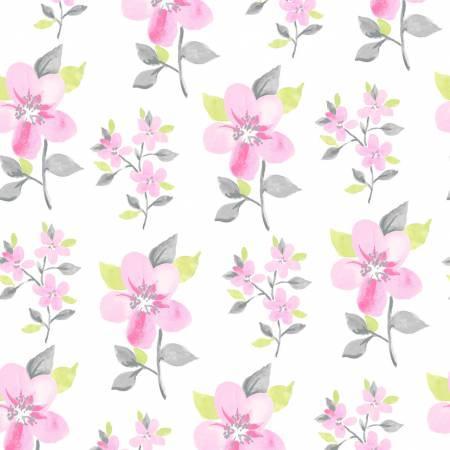 Clothworks Flutter Y2119-1 White