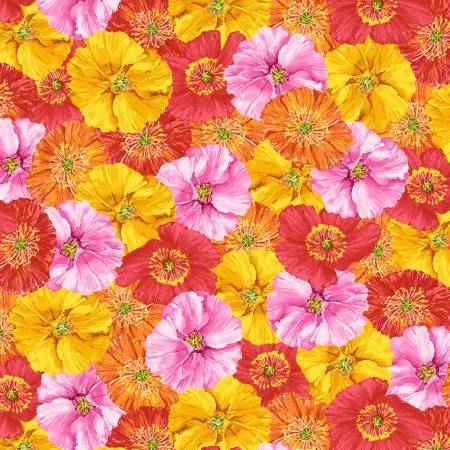 Poppy Garden - Multi Bright Toss