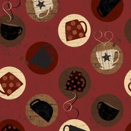 Dark Red Espresso Toss
