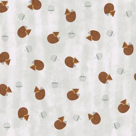 CLOTH- Nature Friends Foxes Small Toss Light Khaki