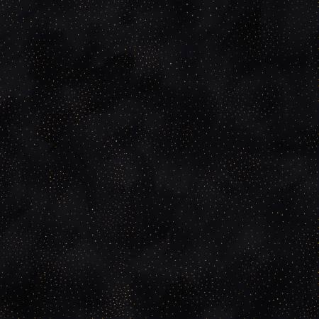 Y2662-3M Black Dot w/Gold Metallic Clothworks
