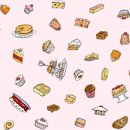Garden Party -- Y2738-41 Dessert Toss -- Pink Desserts