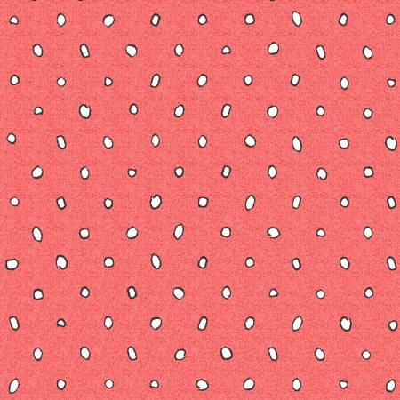 Garden Party -- Y2739-40 Dots -- Red Dots
