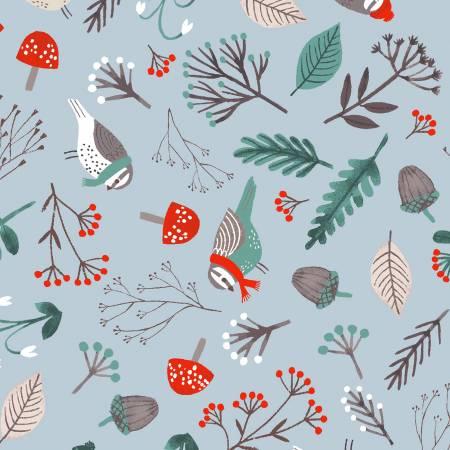 Snow Birds/Grey : Dreaming of Snow