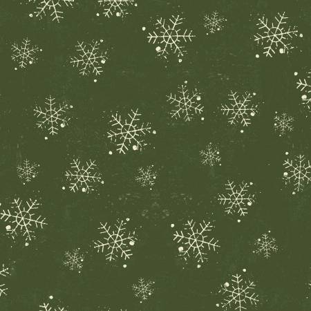 Winter Playground Forest Snowflakes
