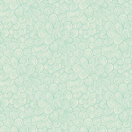 Turquoise Blooming Tonal Make Today Awesome by Helen Dardik