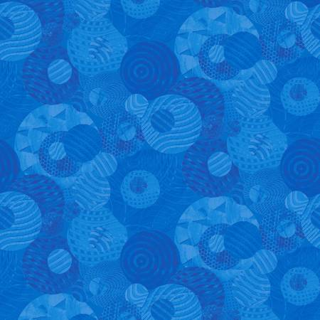 Night Owl Y2805-90 Textured Geo Blue
