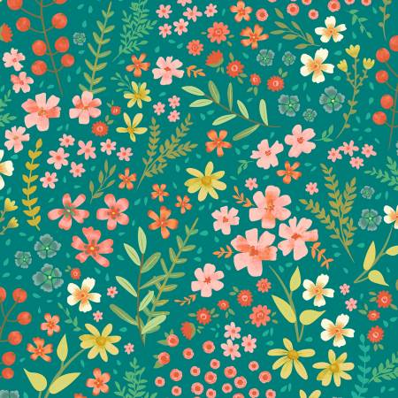 Garden Notes Meadow Teal