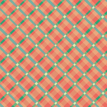 Garden Notes - Orange Plaid