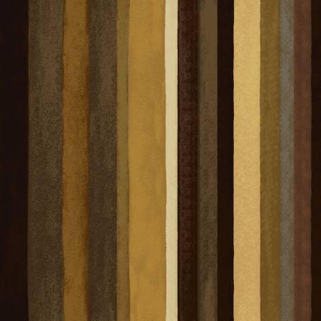 Y2833-15 Brown Stripe Coffee Shop