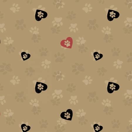 Clothworks - Wigglebutts Y2842-65 Caramel