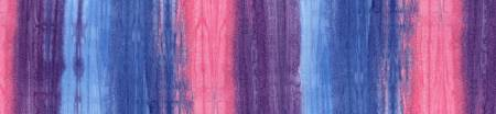 Flying Colors Raspberry Ombre Batik