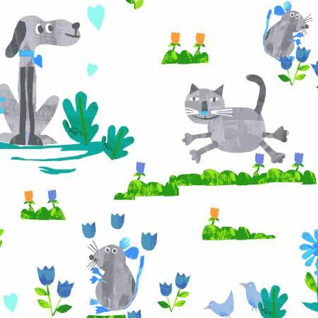 Animal Magic - Grey Dogs & Cats