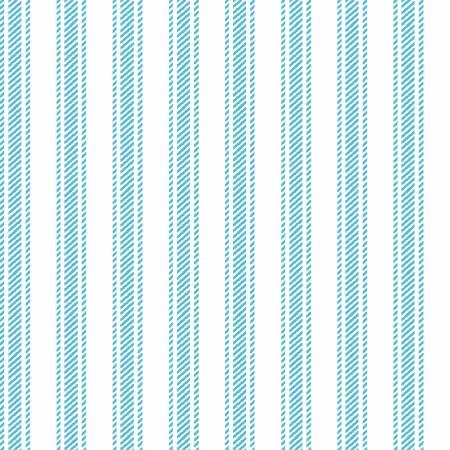 Sunshine Aqua Ticking Stripe