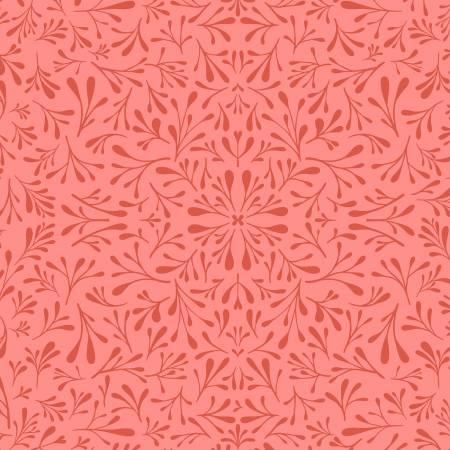 Dark Coral Floret
