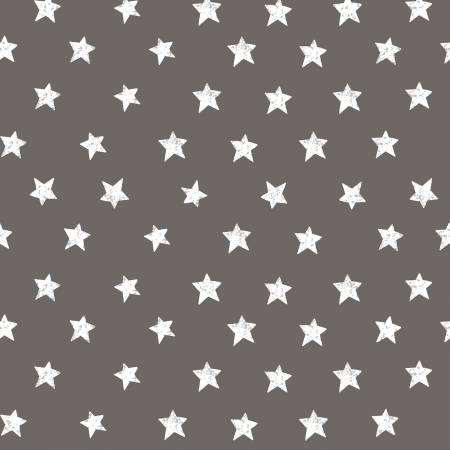 Clothworks Pewter Stars Y2924-120