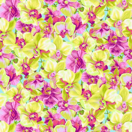Yellow Packed Floral