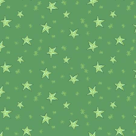 Just What I Wanted Y2980-21 Green Starry Night Christmas